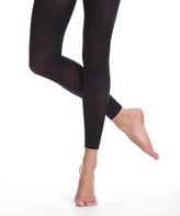 Danskin Women's Tights BLACK - Black Microfiber Hipster Crop Tights - Women