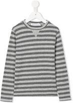 Opililai - striped T-shirt - kids - Cotton/Viscose/Wool - 2 yrs