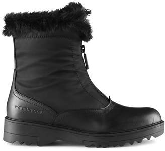 Cougar Grandby Faux Fur Waterproof Insulated Zip-Front Boots