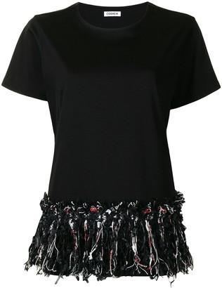 Coohem Tweed-Bottom T-Shirt
