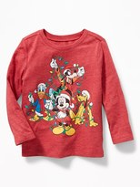 Old Navy Disney© Mickey & Friends Christmas Tee for Toddler Boys