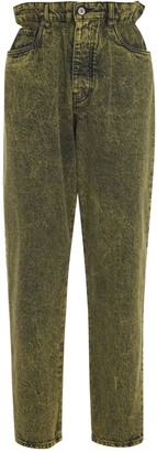Miu Miu High-waist Vintage Effect Jeans