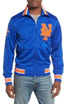 Mitchell & Ness Men's Authentic New York Mets Baseball Jacket