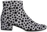 Saint Laurent star print boots