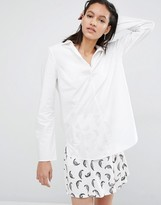 Just Female Jerrel Blouse With Flared Cuff