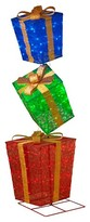 Sterling 6' 3ct Glittering Multicolored Gift Boxes