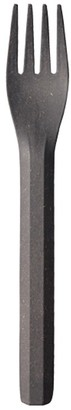 Kinto Alfresco Bamboo & Melamine Fork Black