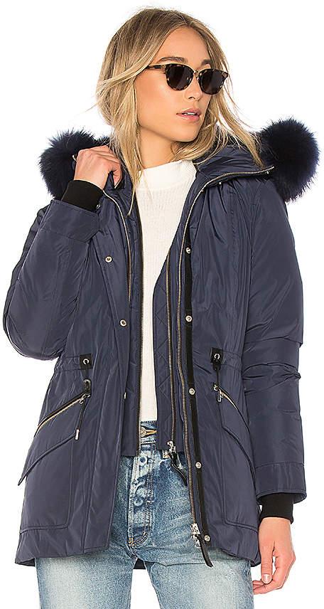 Mackage Katryn Jacket With Fur Collar