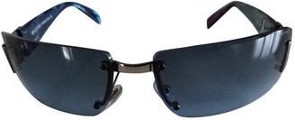 Bvlgari Blue Metal Sunglasses