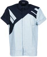 Neil Barrett Panelled Shirt