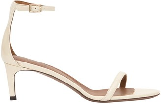 L'Autre Chose Lautre Chose LAutre Chose 55 Mm Heeled Sandals In Patent Leather