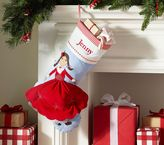 Pottery Barn Kids Doll Quilted Stocking