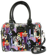 Loungefly Disney Villian Print Duffle Bag