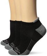 Saucony Women's 3 Pack Classic Runner No Show Tab Socks