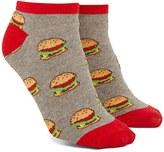 Forever 21 FOREVER 21+ Cheeseburger Print Ankle Socks