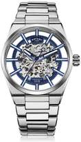Rotary Watches Rotary Mens Silver Greenwich Watch Blue Dial