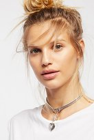 Free People Heart Locket Drop Choker