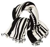 Donni Charm Striped Print Scarf w/ Tags