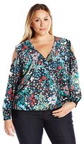 Single Dress Women's Plus Size Bosley Blouse