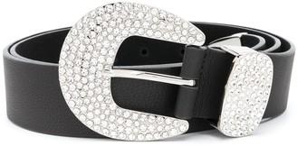 B-Low the Belt Brittany crystal-embellished belt