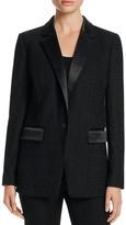 MICHAEL Michael Kors Textured Tuxedo Jacket
