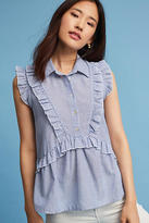 Eri + Ali Ruffled Button Top