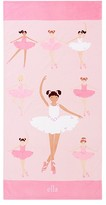 Pottery Barn Kids Ballerina Kid Beach Towel, Multi
