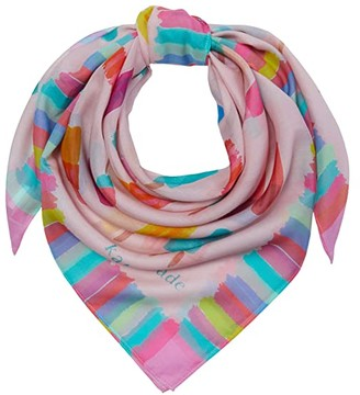 Kate Spade Ice Pops Square Scarf (Chalk Pink) Scarves