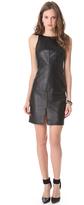 Susana Monaco Leather Dress