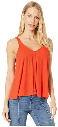Free People Dani Tank Top (Bright Red) Women's Sleeveless
