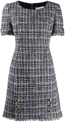 Blumarine Tweed Shift Dress