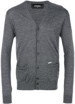 DSQUARED2 classic cardigan - men - Wool - S