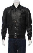 Givenchy Leather Star Varsity Jacket