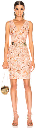 Stella McCartney Bloomer Floral Dress in Multicolor Orange | FWRD