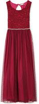 Speechless Glitter & Lace Maxi Dress, Girls (7-16)