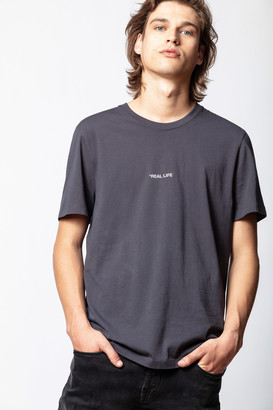 Zadig & Voltaire Ted Photoprint Real Life T-shirt