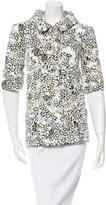 Chanel Spring 2015 Tweed Floral Print Jacket