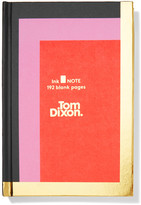 Tom Dixon Ink Color-block Hardback Notebook - Red