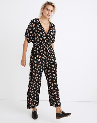 Madewell Smocked-Waist Jumpsuit in Homestead Bouquet