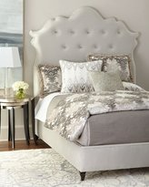Haute House Arabella Tufted King Bed