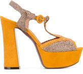 L'Autre Chose woven platform sandals