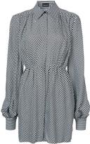 Magda Butrym Zamora Striped Dress
