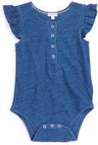 Splendid Indigo Dyed Bodysuit (Baby Girls)
