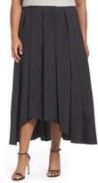Alex Evenings Plus Size Women's Taffeta High/low Ballgown Skirt