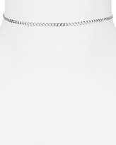Argentovivo Curb Chain Choker Necklace, 12