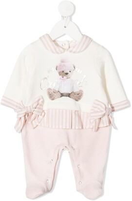Lapin House Teddy Bear Print Pajamas