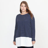 Ralph Lauren Woman Striped Jersey Top