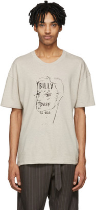 Billy Taupe Eastlake Manline Drawing T-Shirt