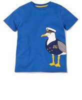 Toddler Boy's Mini Boden Big Applique T-Shirt