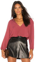 Michael Lauren Ash Top in Mauve. - size L (also in M,S,XS)